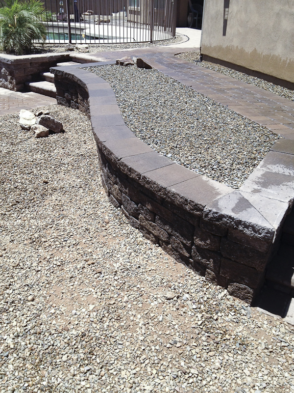 Paver patio